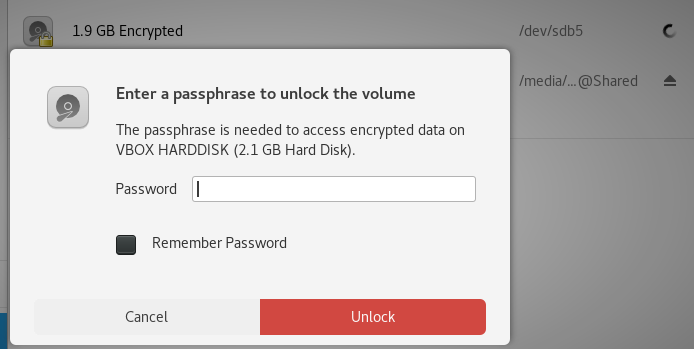 Need the passphrase